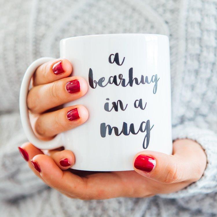bearhug in a mug hug gift ideas