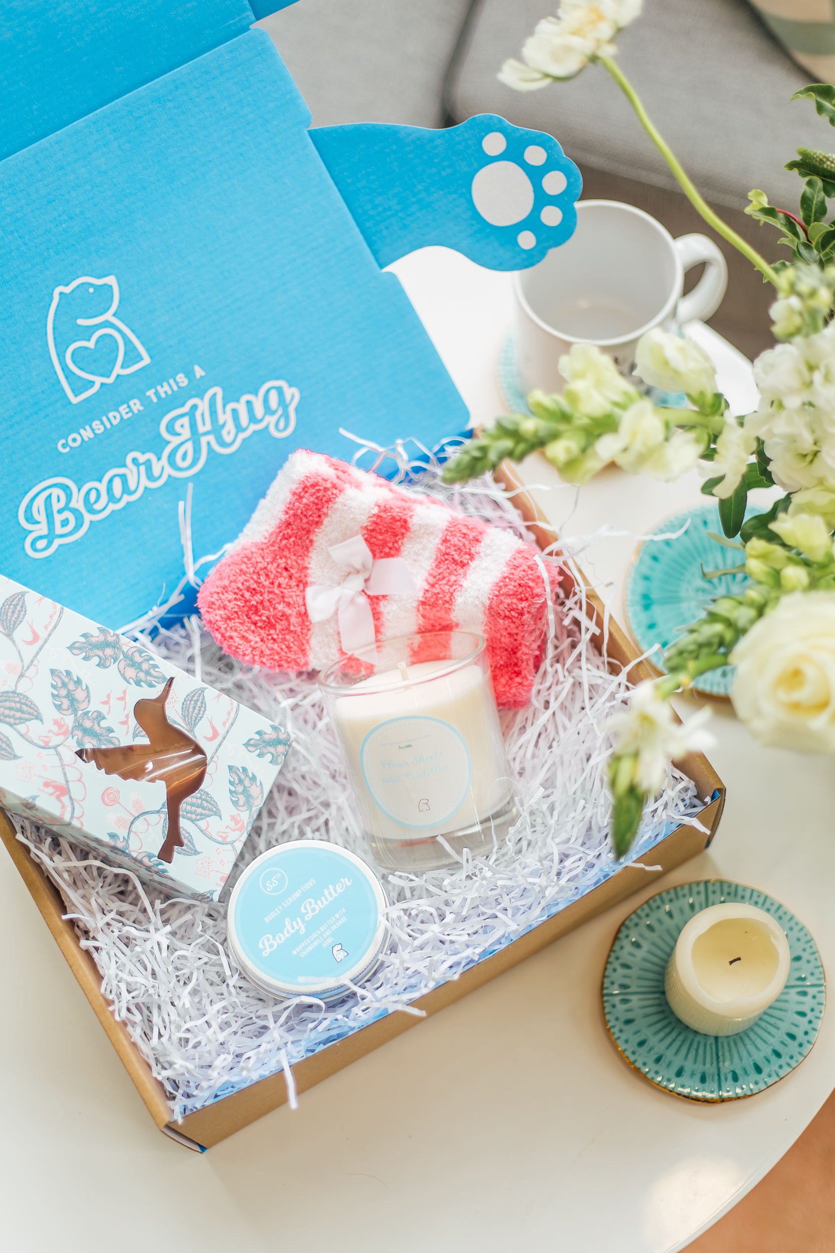 Mother's Day Long Distance Hamper Gift Ideas to Send in the post delivery bear hugs gifts
