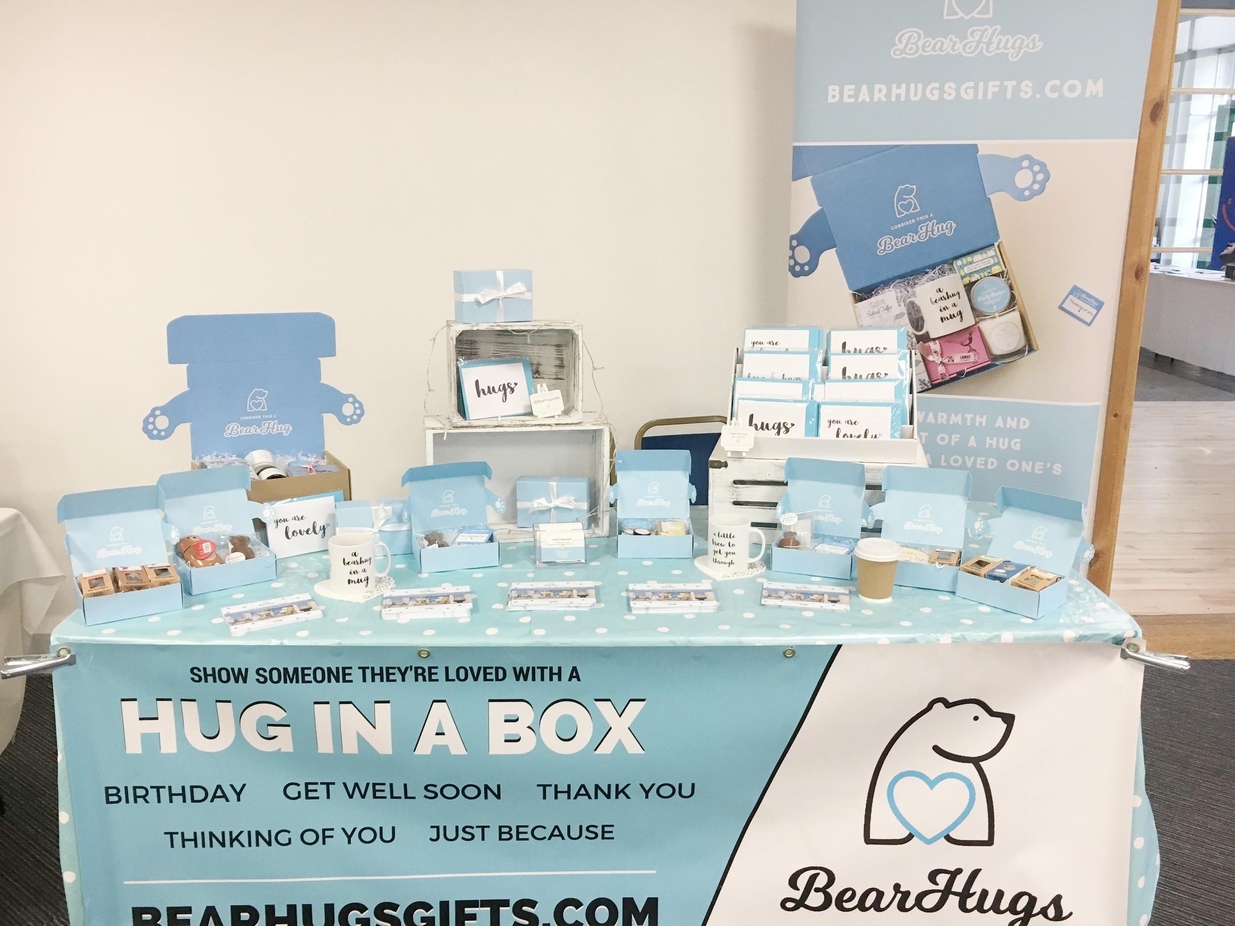 sheffield hallam venture matrix student pop up shop for bearhugs gifts