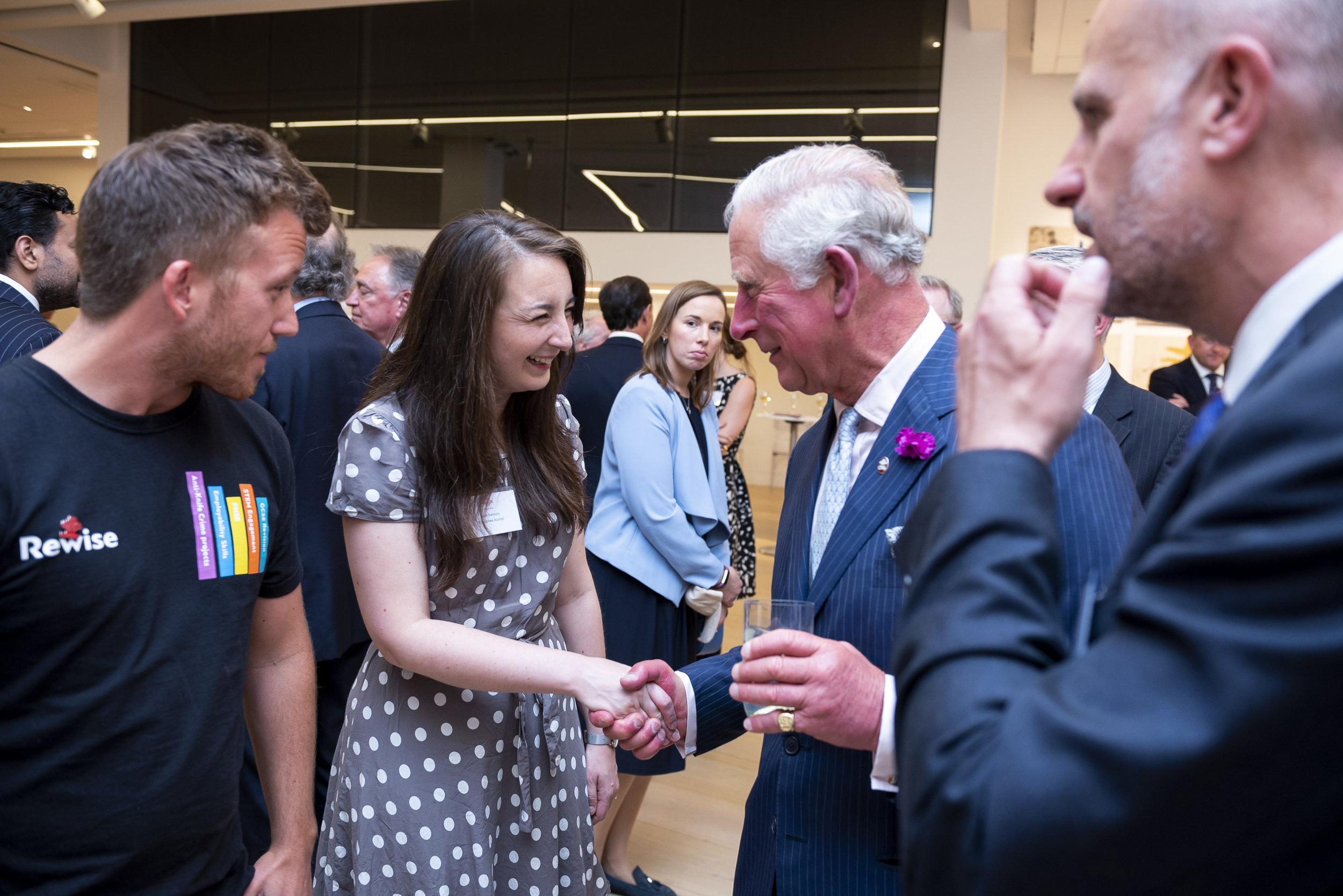 faye savory prince charles princes trust enterprise programme.JPG