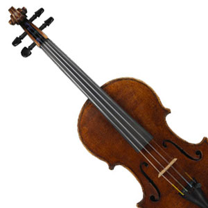 This is my violin, Franscesco Giovanni. We play a lot of Irish music together. I tell people I'm from the Far (far) East part of Ireland. I also teach.
