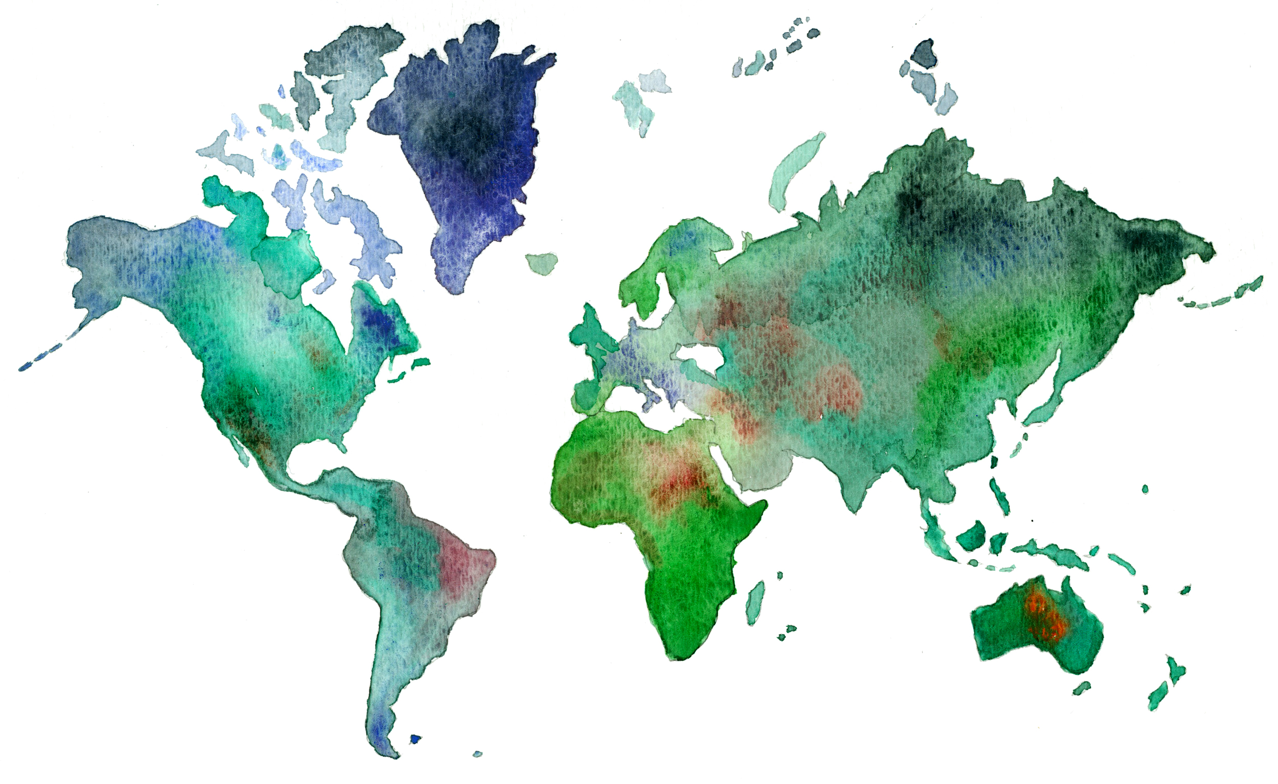 Oh What a Watercolor World!
