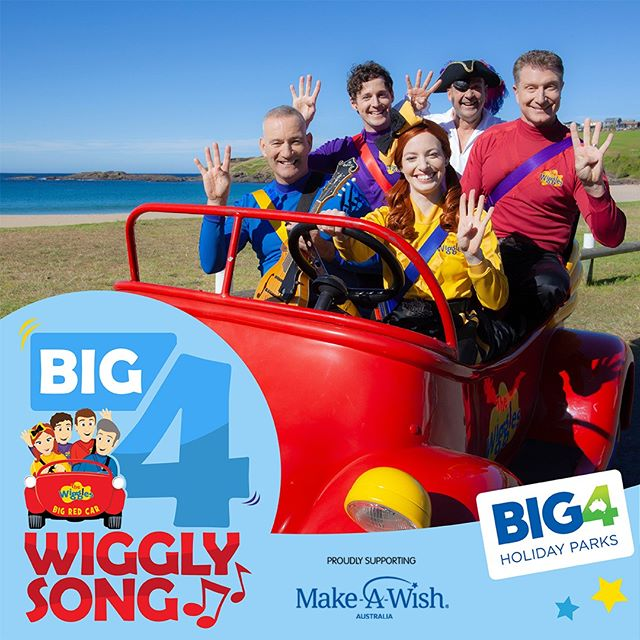 Have you heard our brilliant new song from @thewiggles yet? Download it now on iTunes and proceeds go to @makeawishaust⁠ ⁠ LINK IN THE BIO TO DOWNLOAD!⁠ ⁠ #ExploreBIG4 #BIG4 #BIG4HolidayParks #SeeAustralia #TheWiggles #BIG4WigglyAdventure