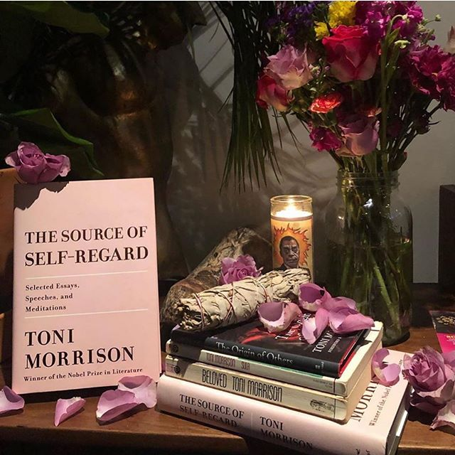 Toni Morrison made me a person. I learned to write, read, think, and most of all exist in the world as a black woman. Thank you for all that you've done. Rest easy. ~ Lana