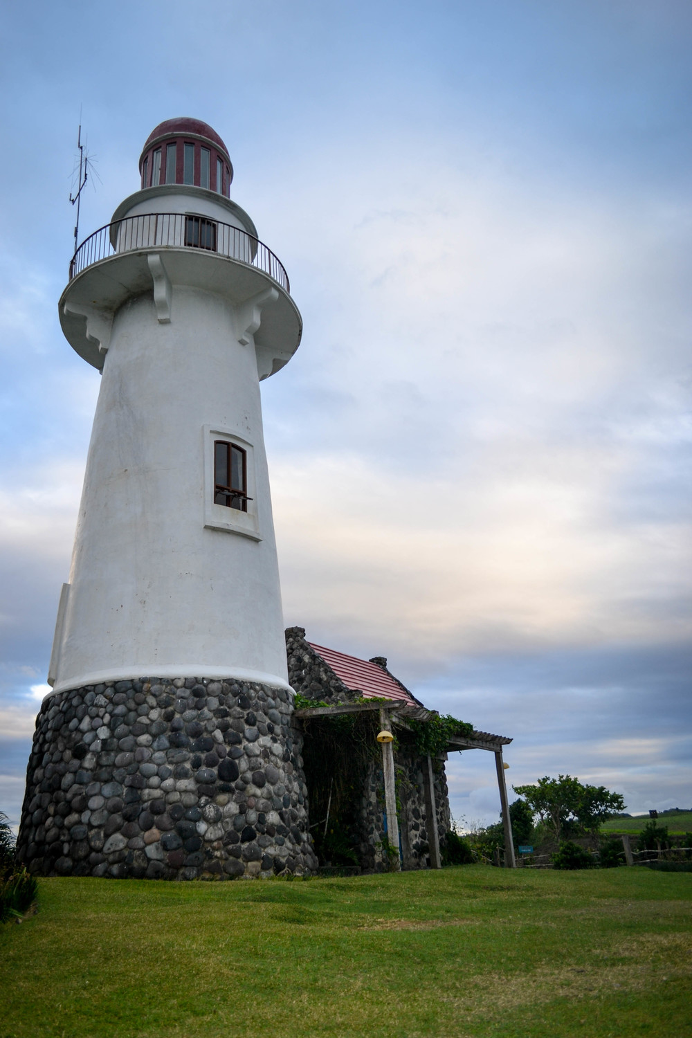 Lookout for ships at the Basco Lighthouse