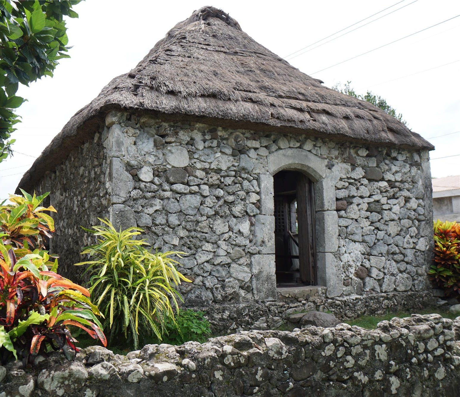 traditional ivatan stone house