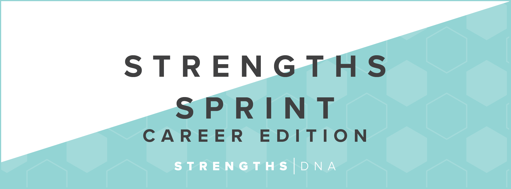Strengths Sprint Career Edition Private Coaching - http://strengthsdna.com/strengths-sprint-career-edition