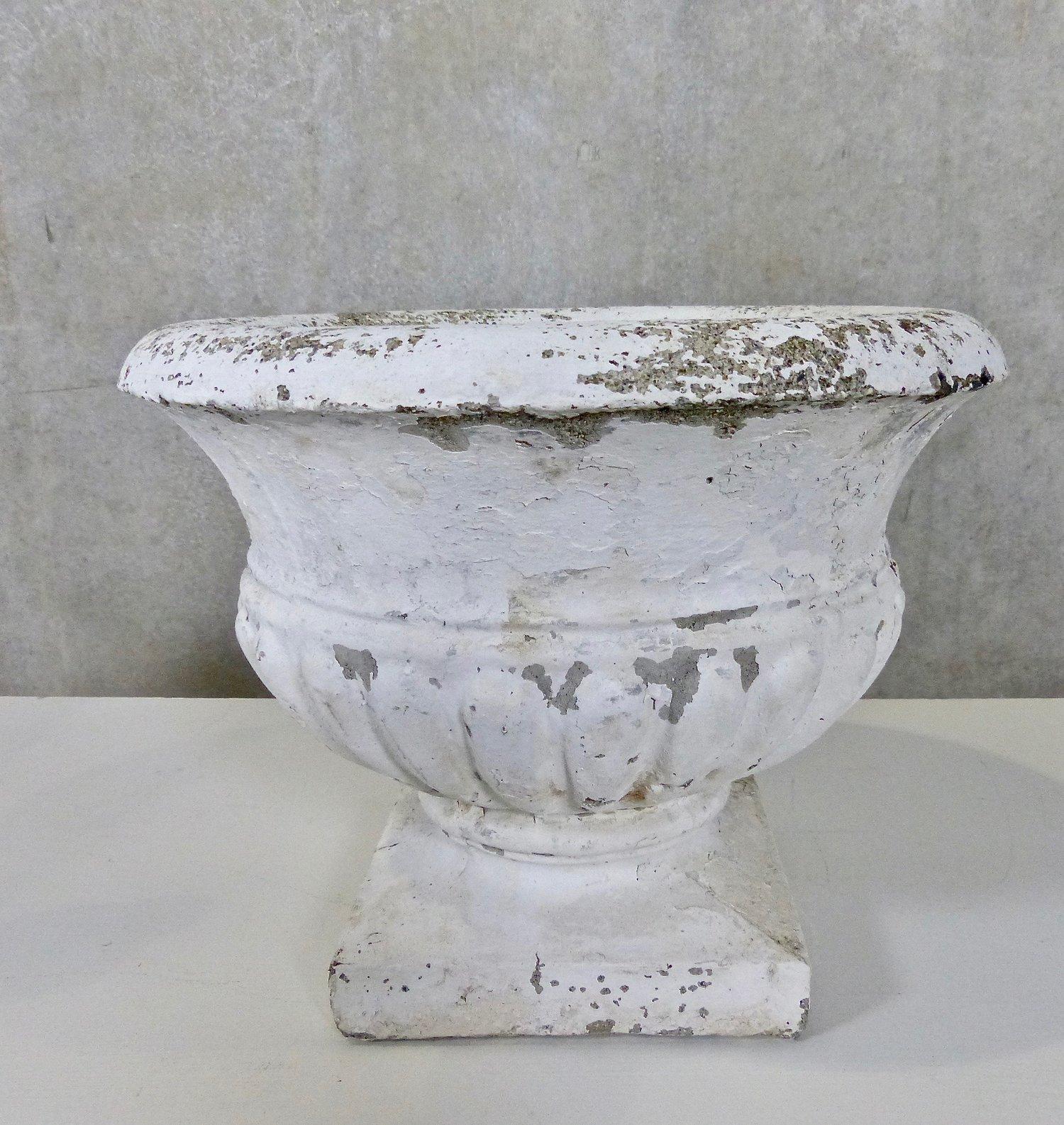 Interiors Antique Concrete Urns Planters