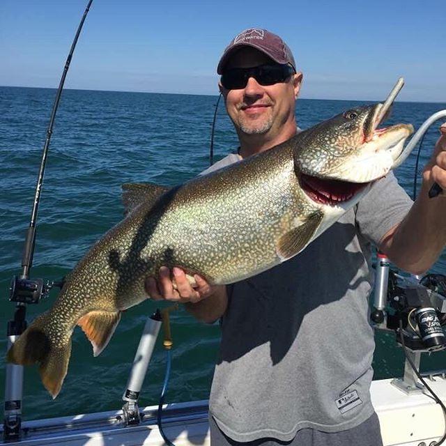 7/5/17 Beast . . . . . #lescheneauxislands #fishmichigan #puremichigan #fishing #michiganfishing #troutfishing #fishon #michigan #thetugisthedrug #catchandrelease #fish #tightlines #kingsalmon #salmonfishing #atlanticsalmon #laketrout #steelhead #drummondisland #mackinacisland #mibha #accessourwaters
