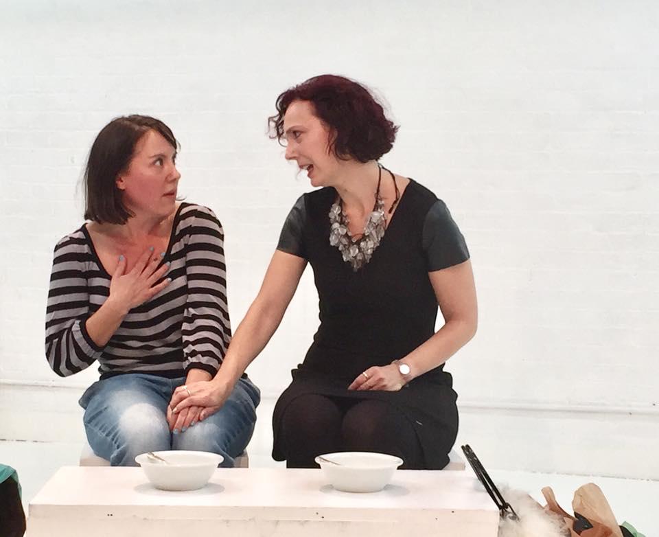 Katie's ten minute play, directed by John Kurzynowski, was a huge hit! -