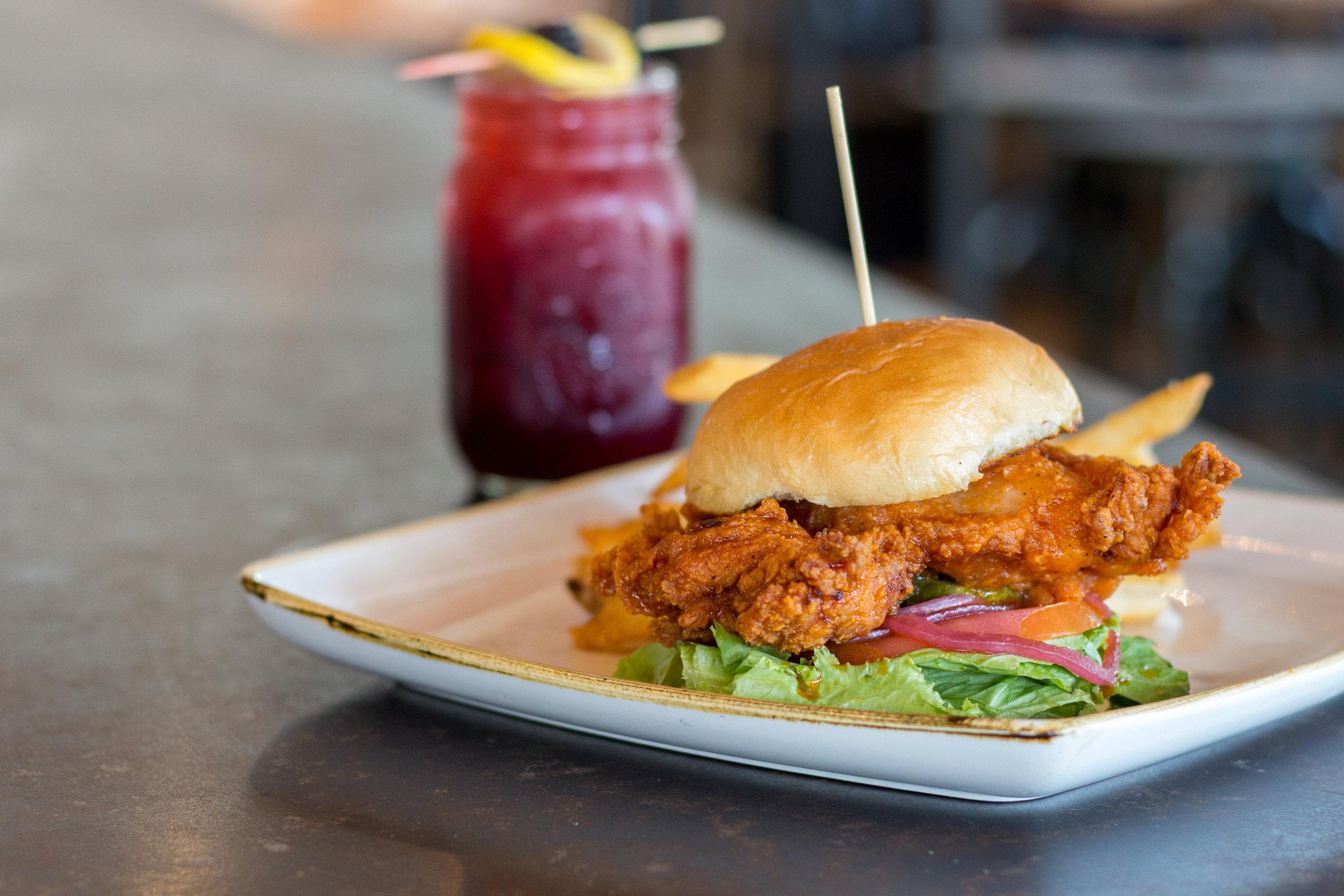 Crunchy Yardbird Sandwich