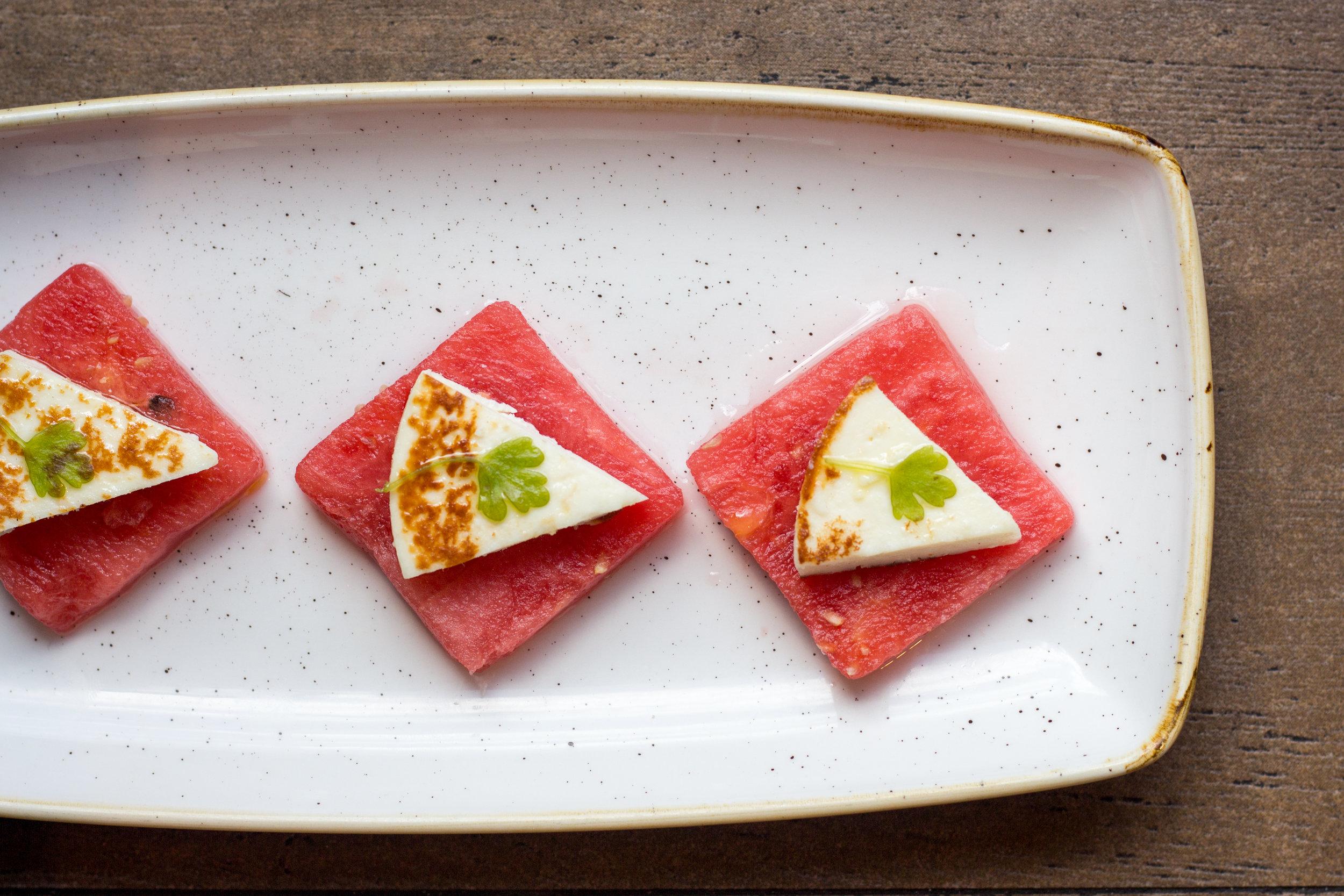 Watermelon & Farmer's Cheese