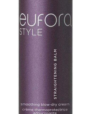 Because sometimes you just want a change from the natural curls. Eufora straightening balm is the tool you need to  rock straight hair. Just lather in before you blow dry. . . #euforastyle #eufora #hairproducts #euforaproducts #hairsalon #salon #salonphd