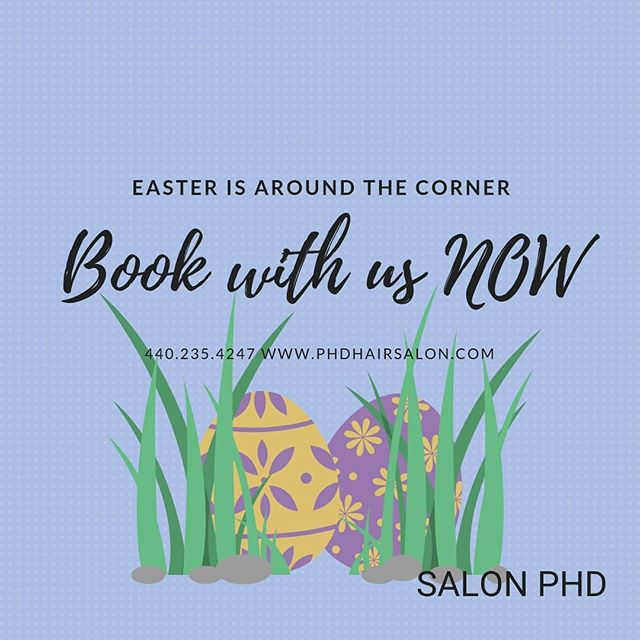 But seriously, is your hair ready for that spring dress? 🌷🌼 . . #hairsalon #salonhair #salonphd #hairgoals #springhair #springishere #salonservices #salonandspa #bereaoh
