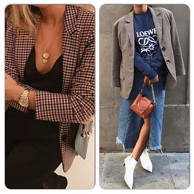 Check mate! #closette #personalshopper #styling #wardrobeedit #holidaypacking #checkblazer