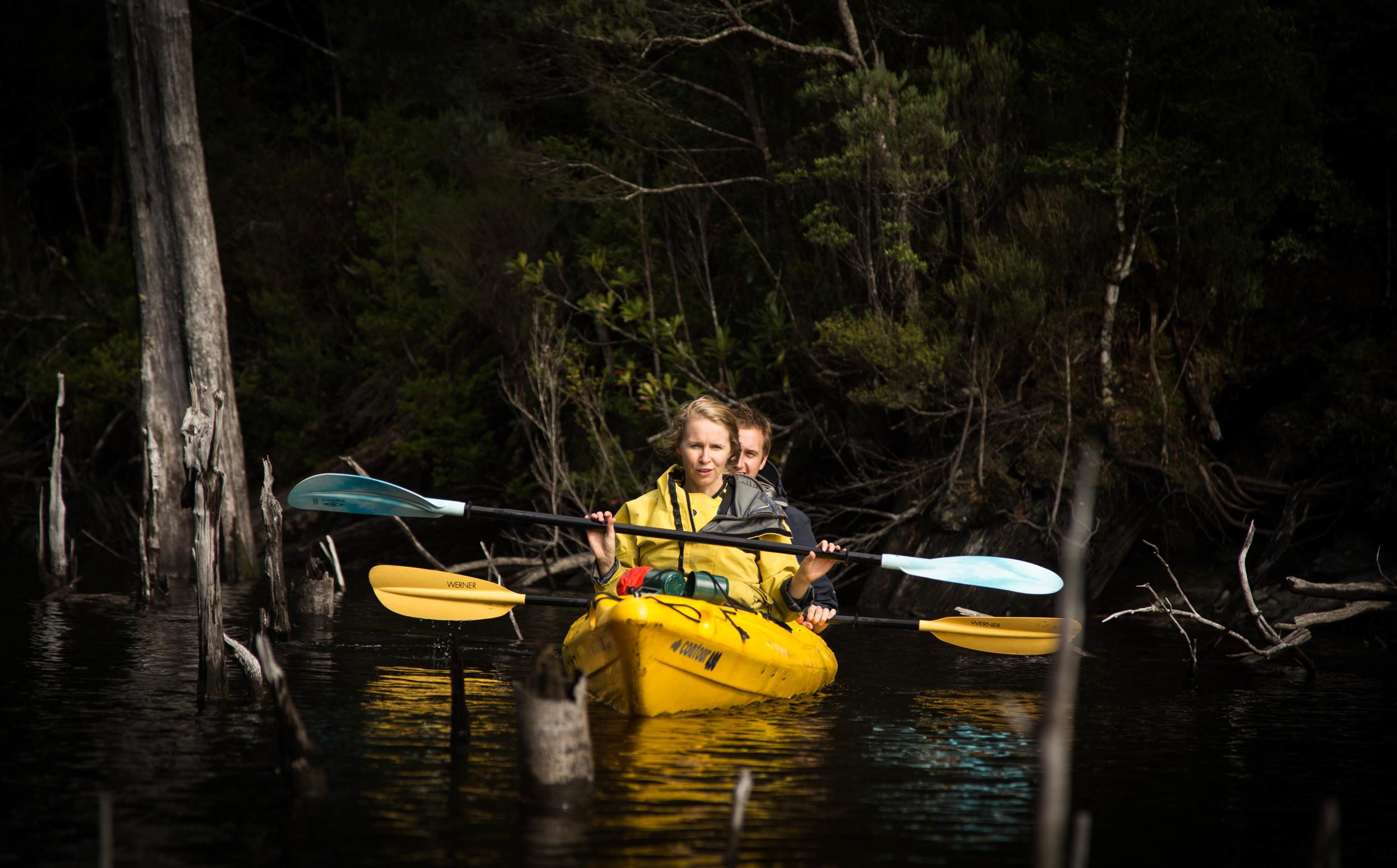 Wild Pedder - Kayaking on Lake Pedder