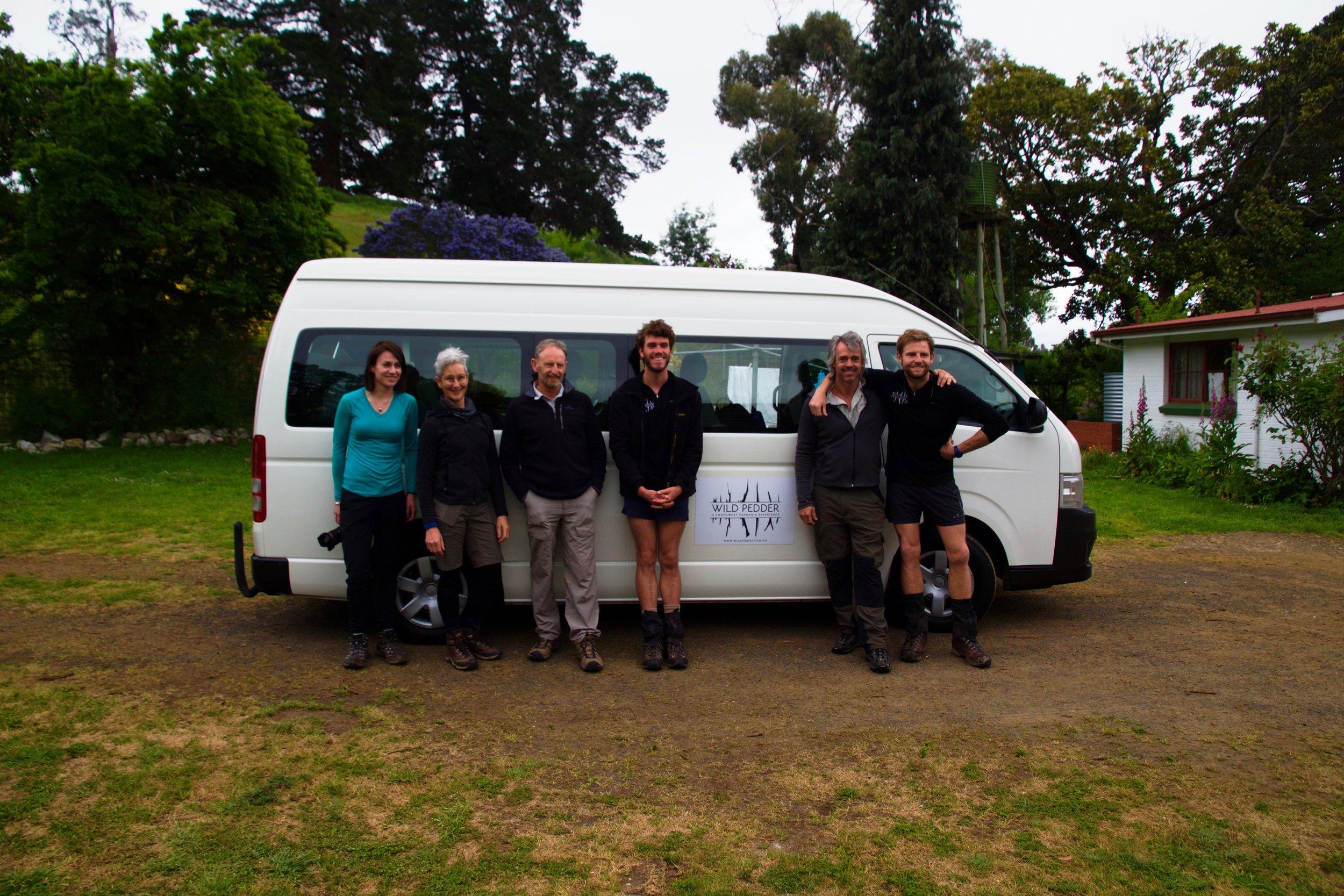 The very First Wild Pedder Team!