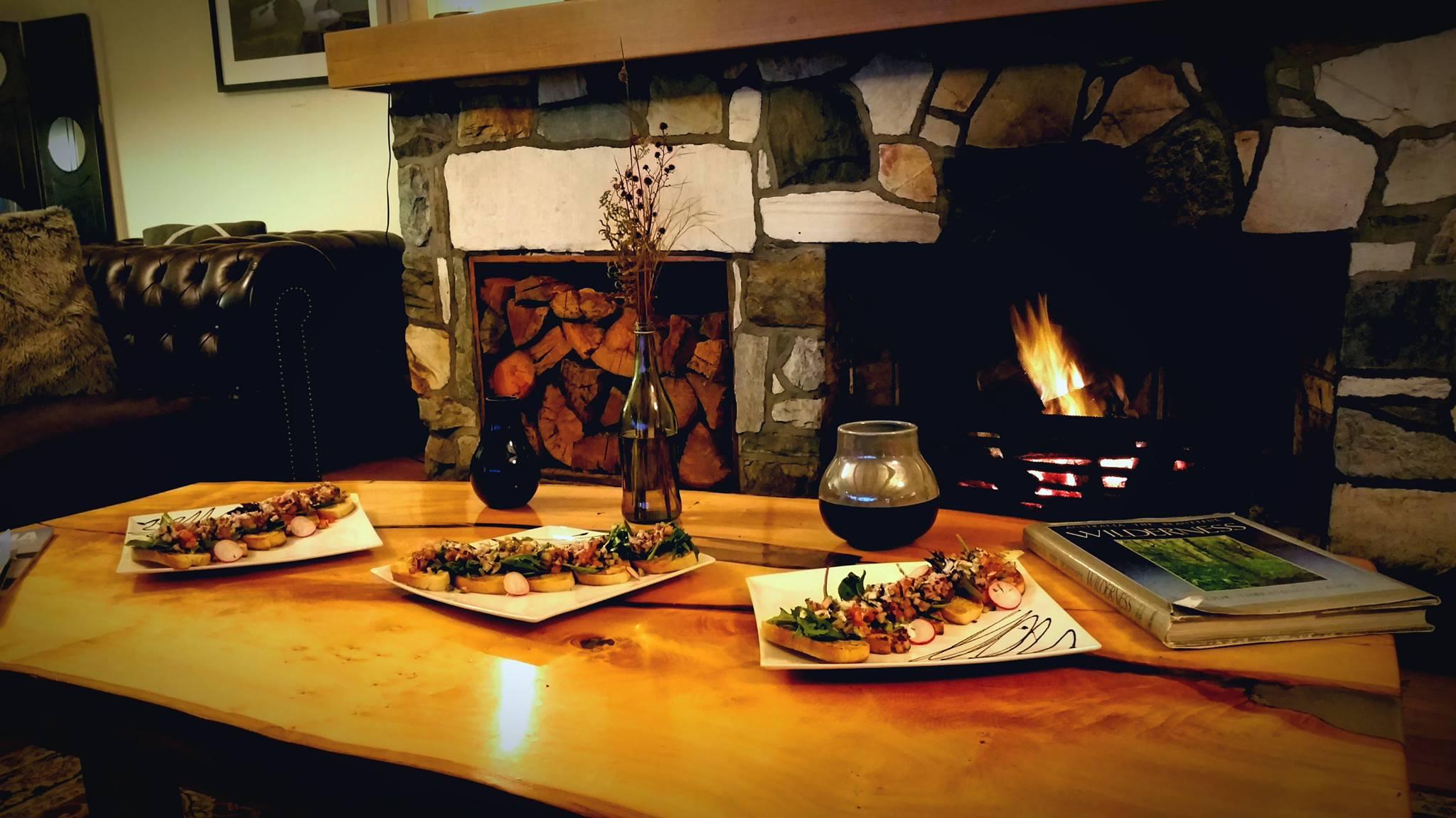 Pedder Wilderness lodge - Wild Pedders bespoke menu