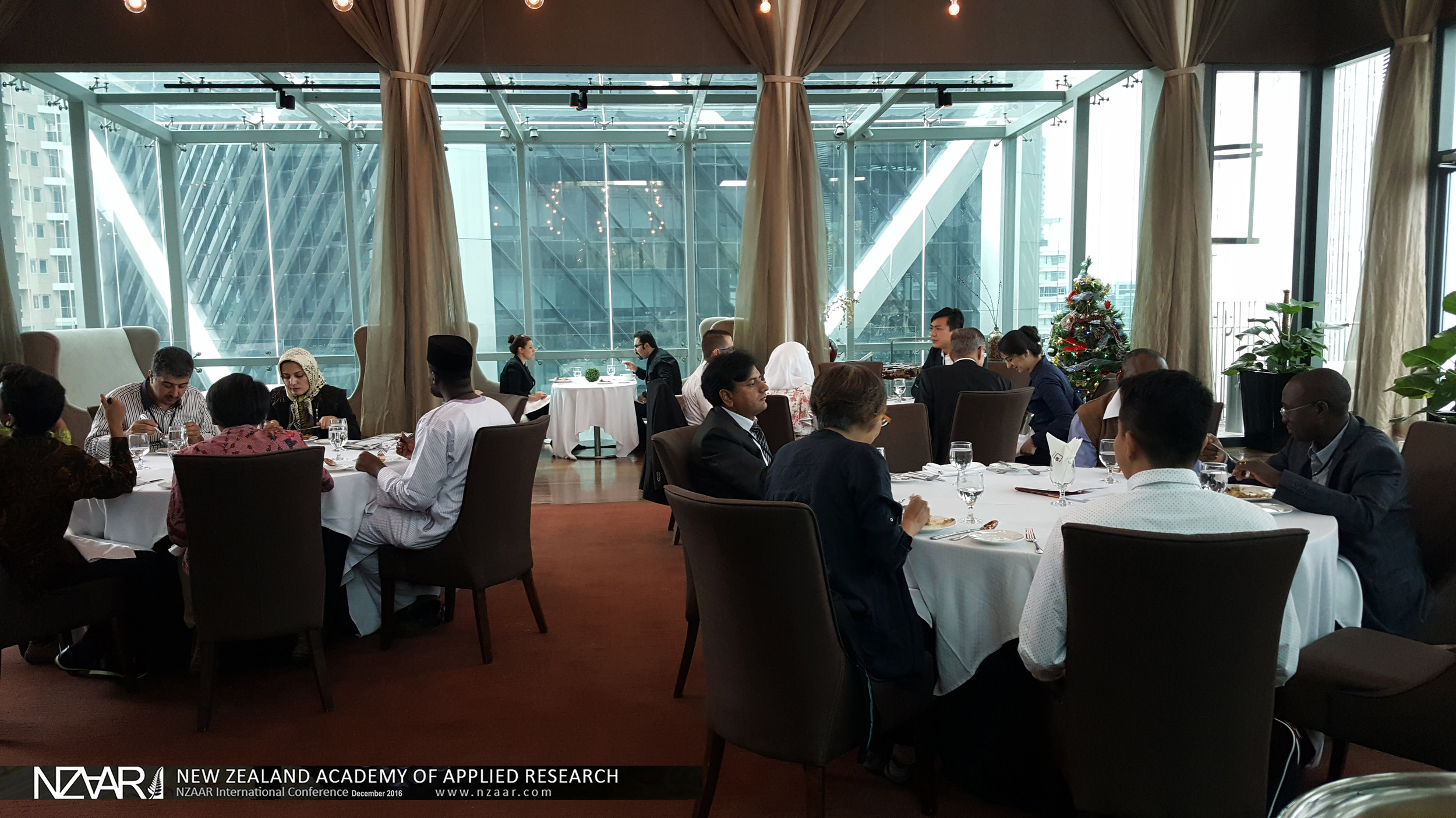 The 2nd International Event Series on Natural and Built Environment, Cities, Sustainability and Advanced Engineering by New Zealand Academy of Applied Research (December 2016 - GTower Hotel, Malaysia)