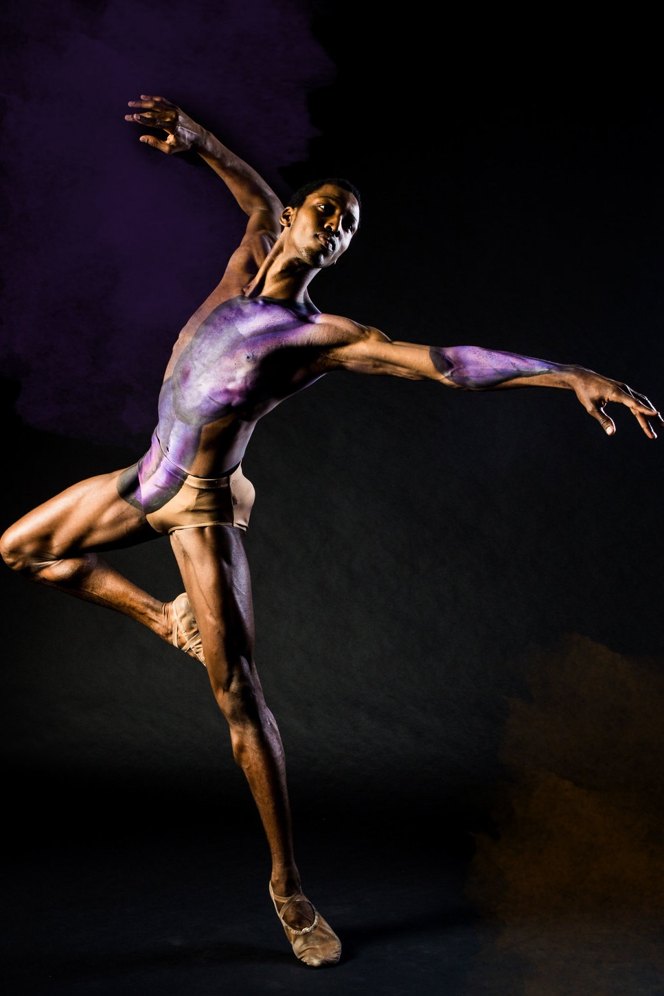 VISION - By harnessing the Black community's inherent creative spirit, The Black Iris Project will encourage and inspire youth of color to pursue art, movement and music as an expressive outlet and means for collective healing, as well as educating audiences about how Black history relates to the modern Black journey.( pic. Calvin Royal III, American Ballet Theatre)