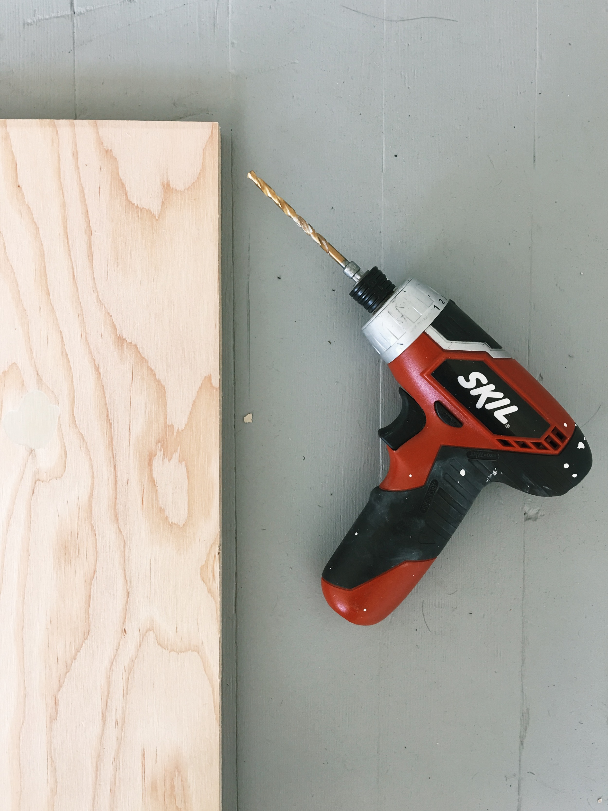 STEP 1: Measure out 1.5 inches from the edge and make a small mark to where you will drill your hole.