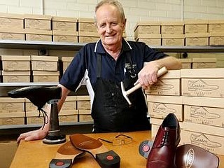 Our talented shoe maker hand crafts and designs all products we sell in his small factory in Melbourne, Australia. Mr Lester is a 4th generation shoe maker who is taking a stand against cheap imports. Buy shoes with a story! #freeshipping #shoes #fashion #mensfashion #australia #story #handmade #artwork #skilled #talented #melbourne
