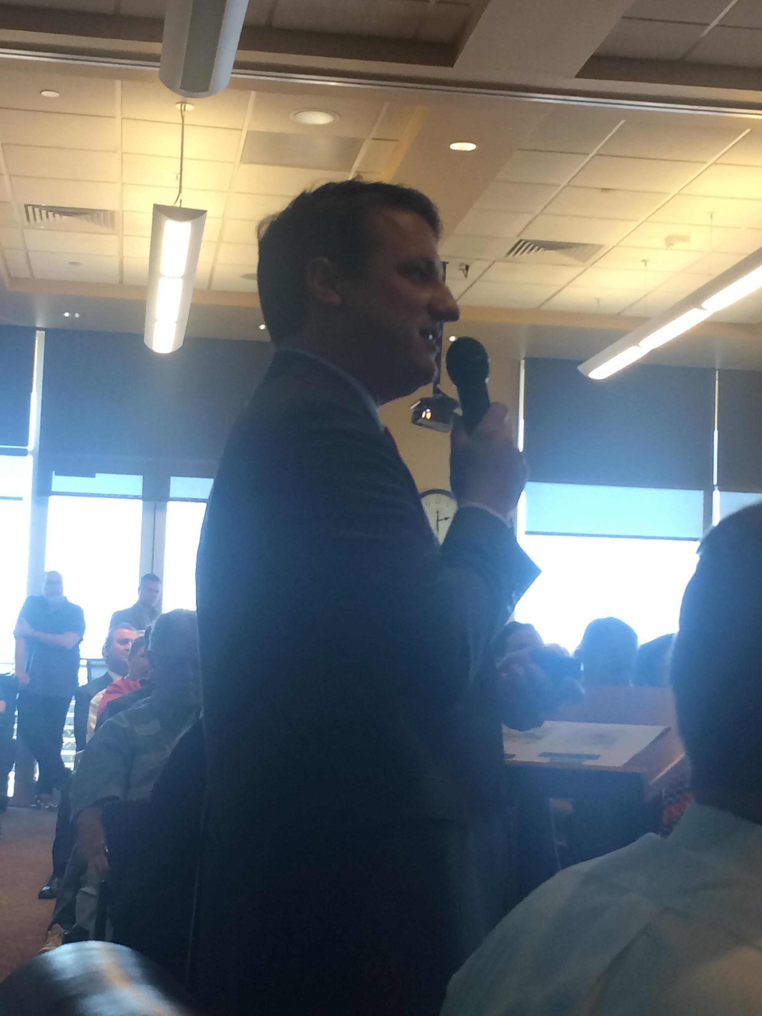 Bech Bruun, Chairman, Texas Water Development Board
