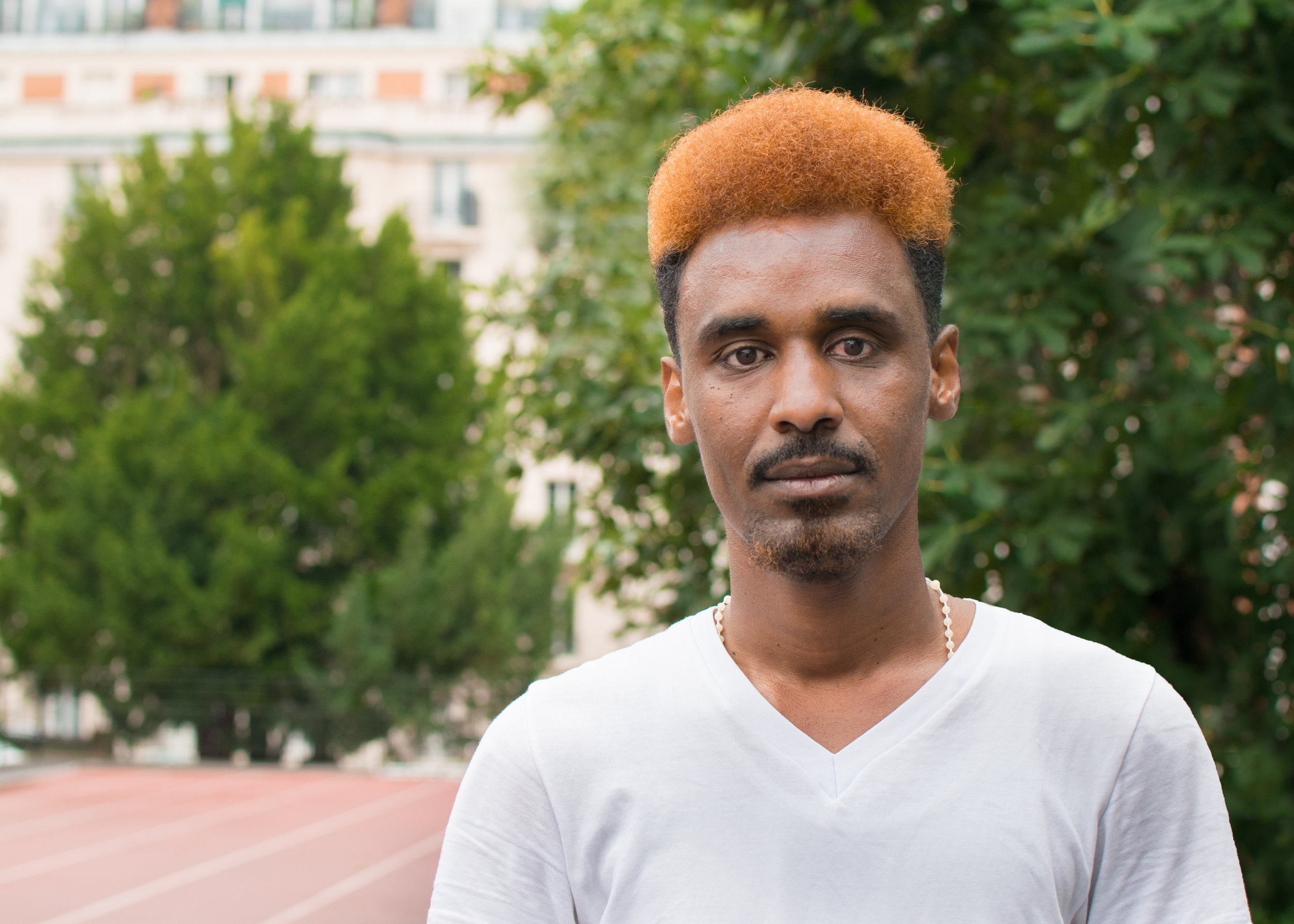 Beyene - I like that I have food to eat and a roof over my head, I just wish I could help my family like I setout to do.