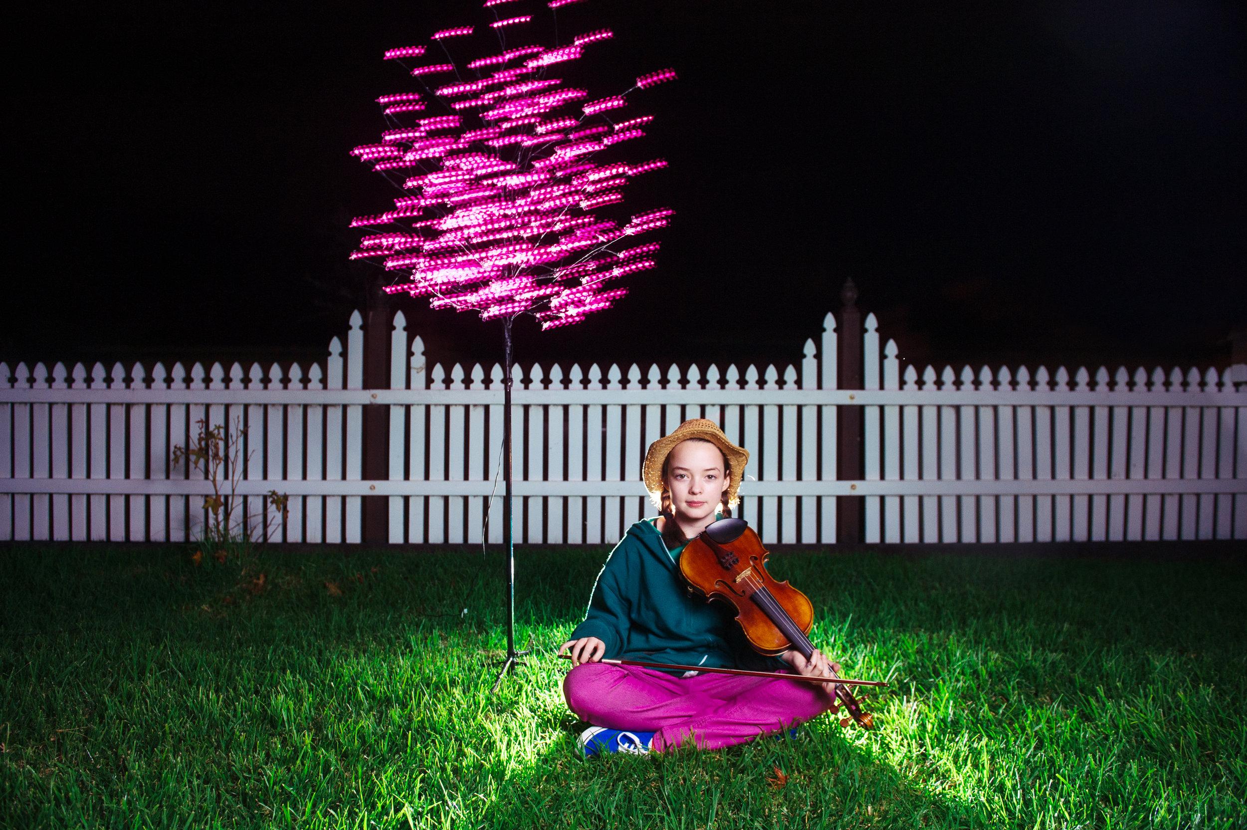 Ella and Violin - One Tacky Tree Media Image.jpg
