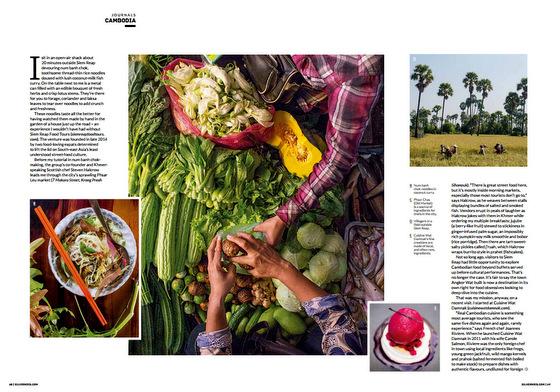 Siem Reap by Mouth: Siem Reap Food Tours in SilverKris magazine