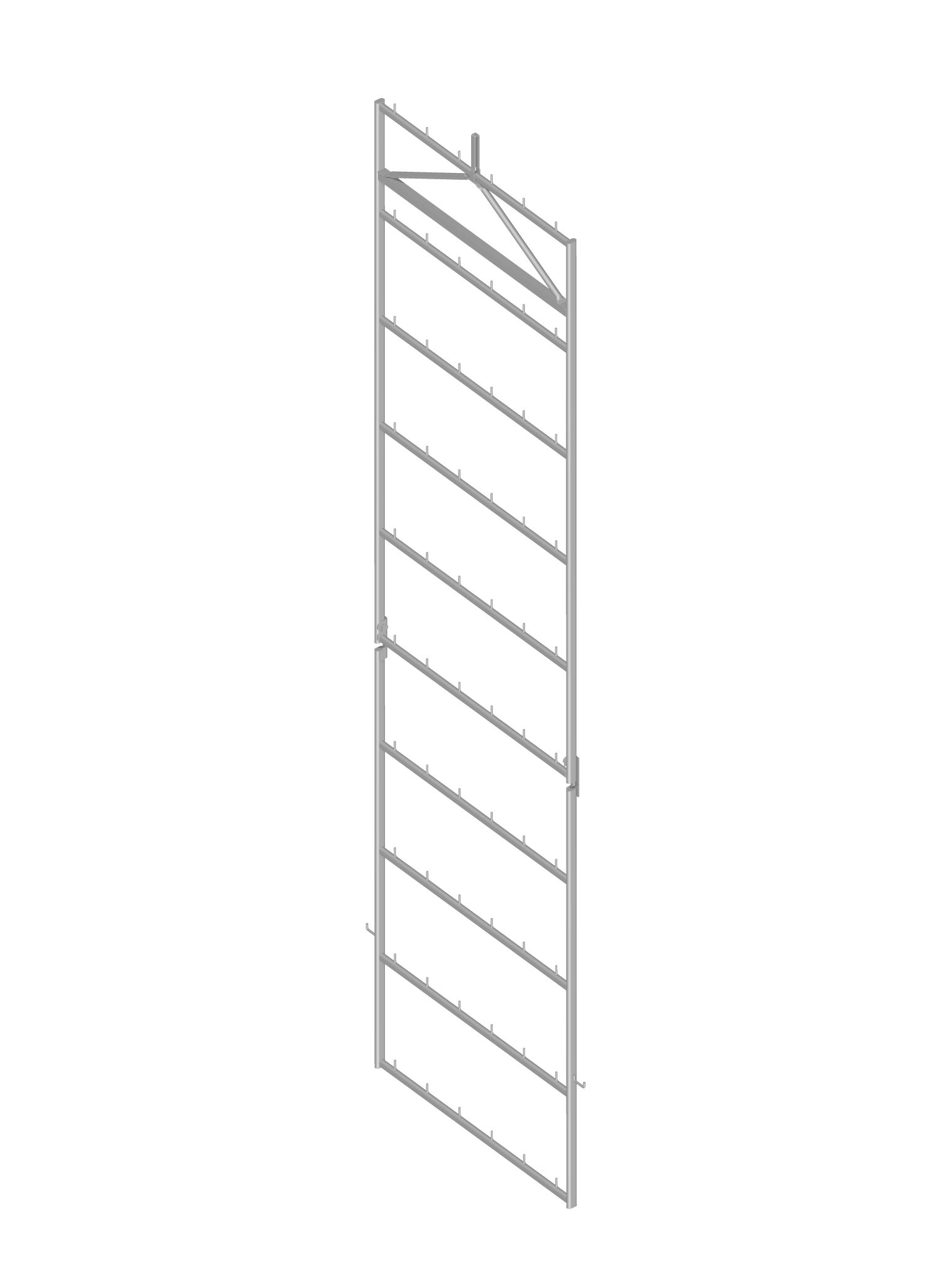 Standard frame for Parma ham