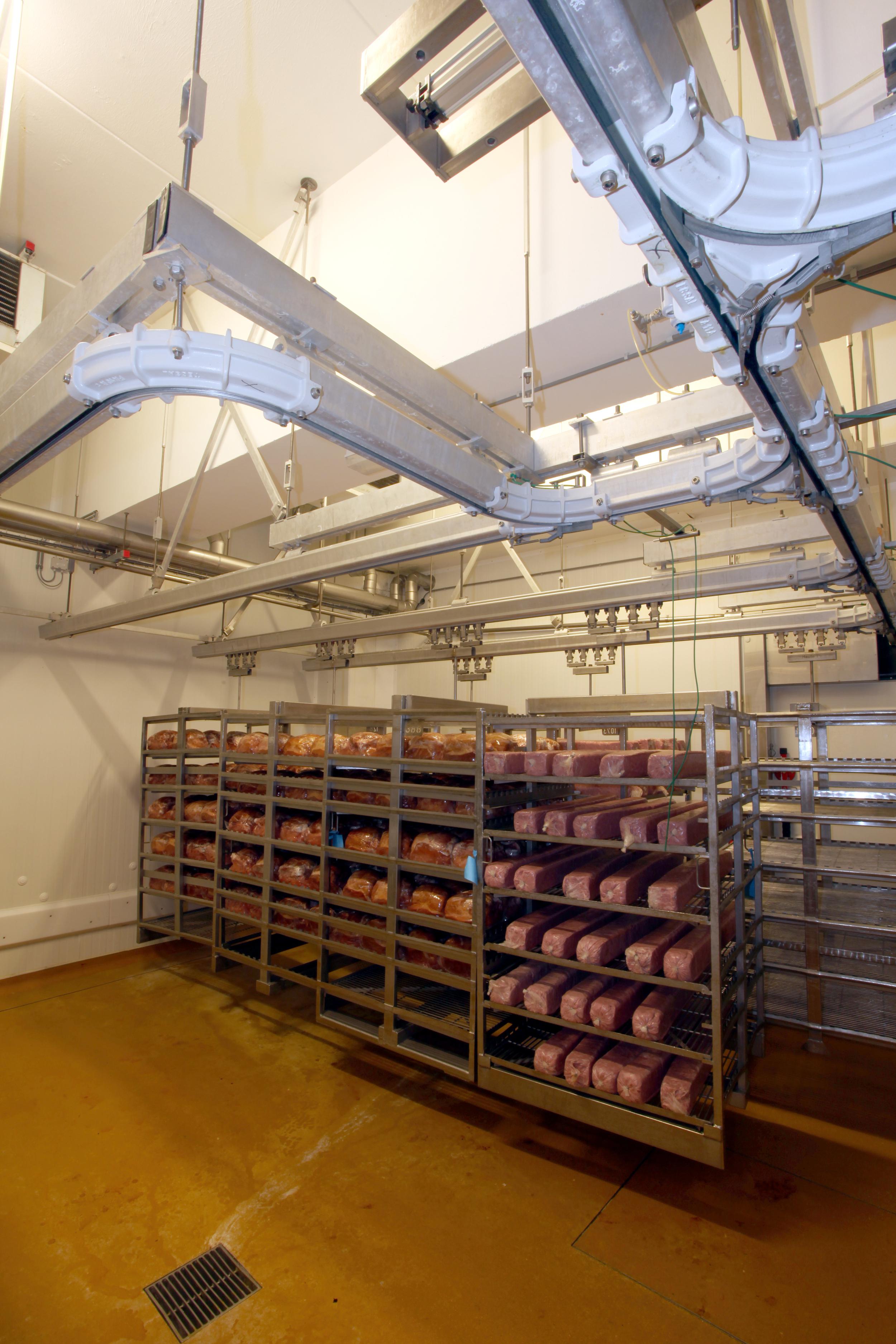 Cooked Hams Racks Storage - 01.JPG