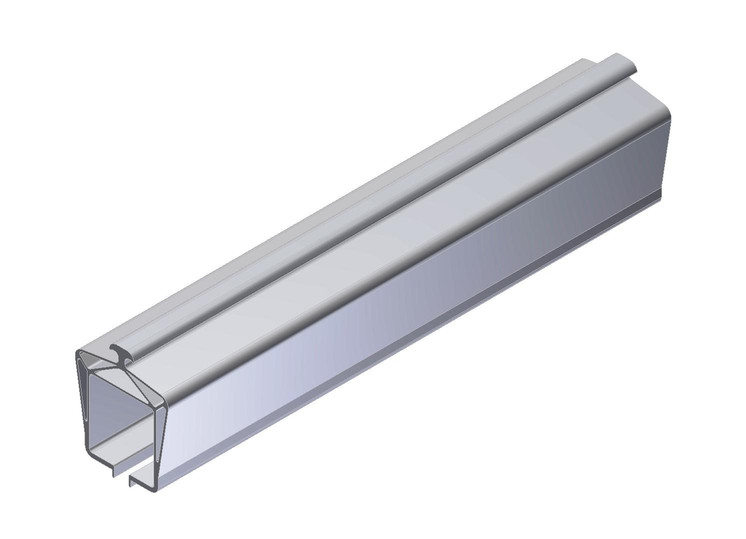 Aluminum overhead rail