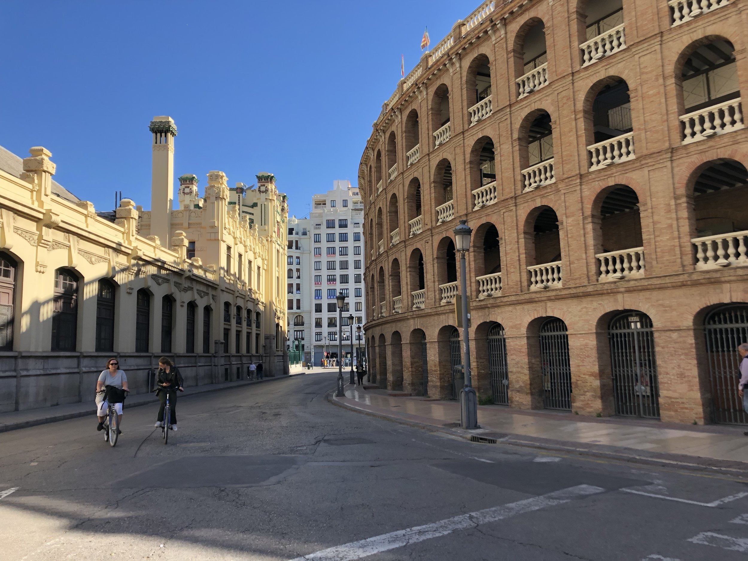Yes, this is a bullfighting ring. No, don't ever watch a bullfight.