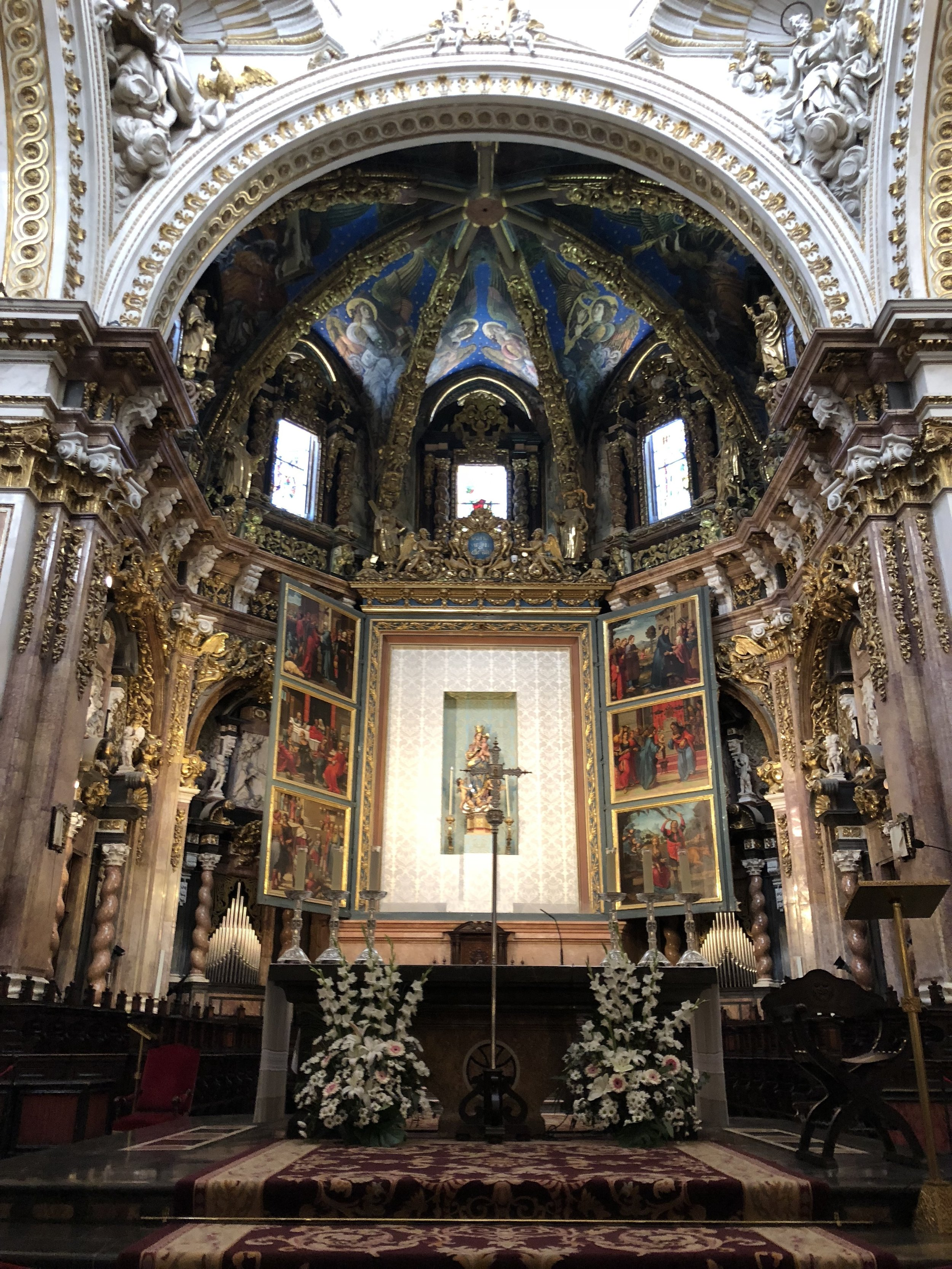 The Valencia Cathedral is stunning.