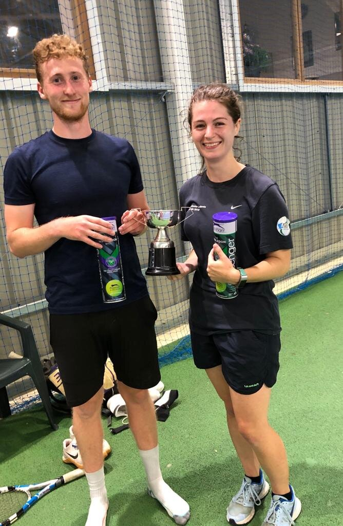 Mixed winners; Jacob Webb and Kate Gailey