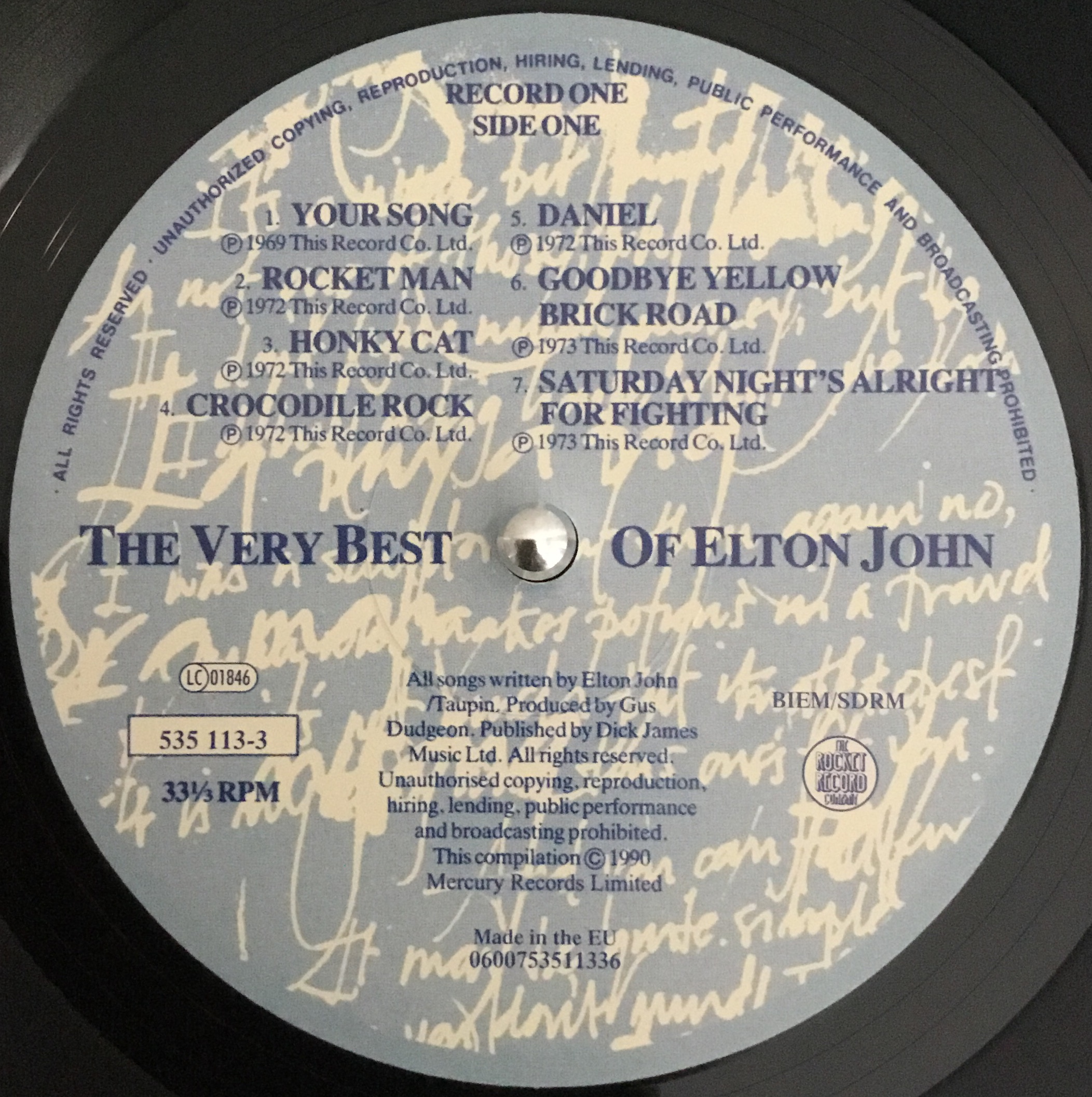 Elton John - The Very Best Of Elton John (Compilation Review