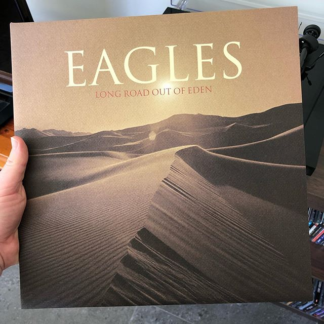 It may be underrated but #longroadoutofeden grows on you the more you listen to it. The vinyl pressing is nothing short of perfection and if you like the #eaglesband, you should definitely check this album out if you haven't already.