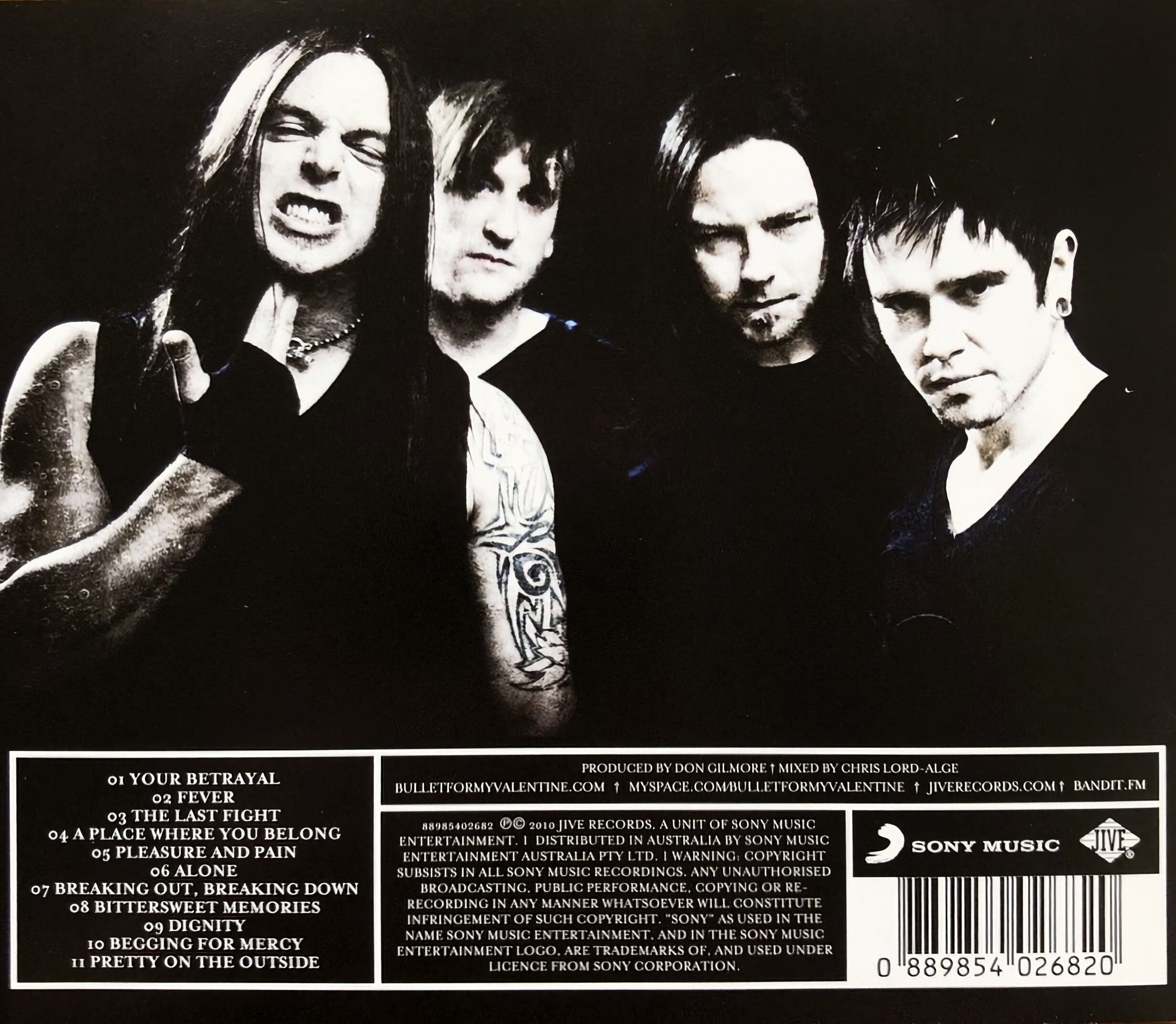 Bullet For My Valentine Fever Album Review On Cd Apple Music Subjective Sounds