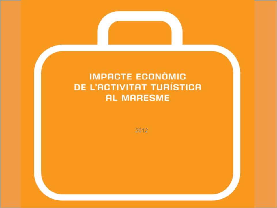 Impacte econòmic de l'activitat turística al Maresme