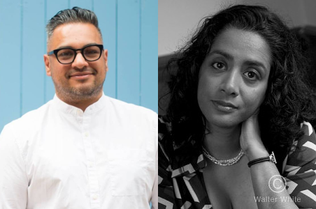 Nikesh Shukla and Sunny Singh are the creators of the Jhalak Prize