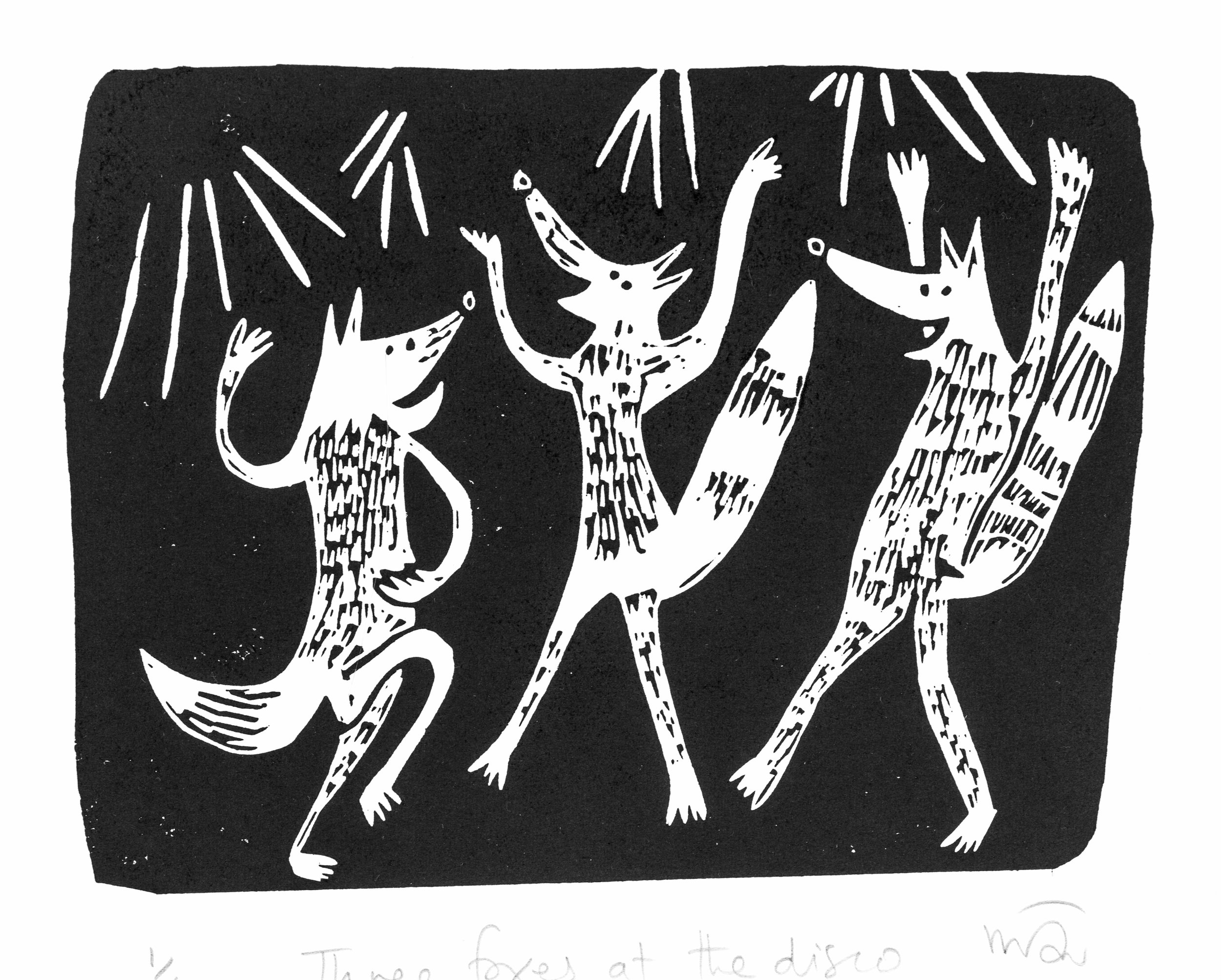 3 Foxes at the Disco
