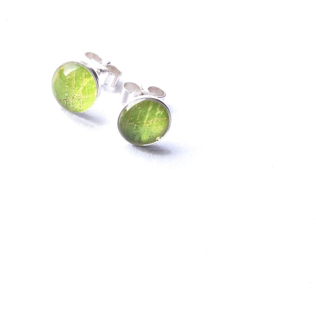 Studs - Lemony/Green