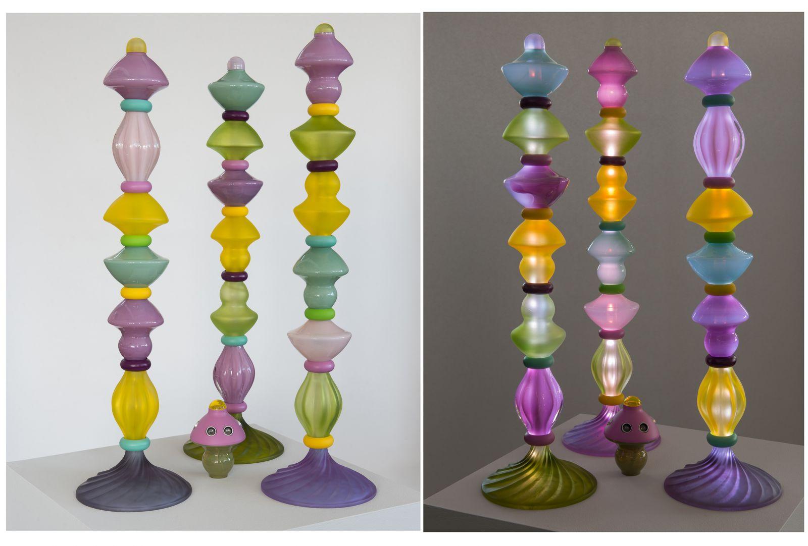 Totem lamp - Marzena Ostromecka