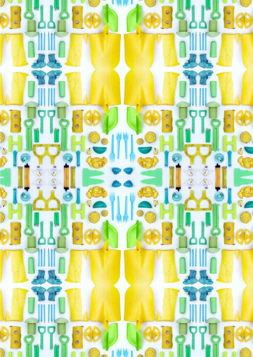 Yellow plastic 1 - Diane Watson