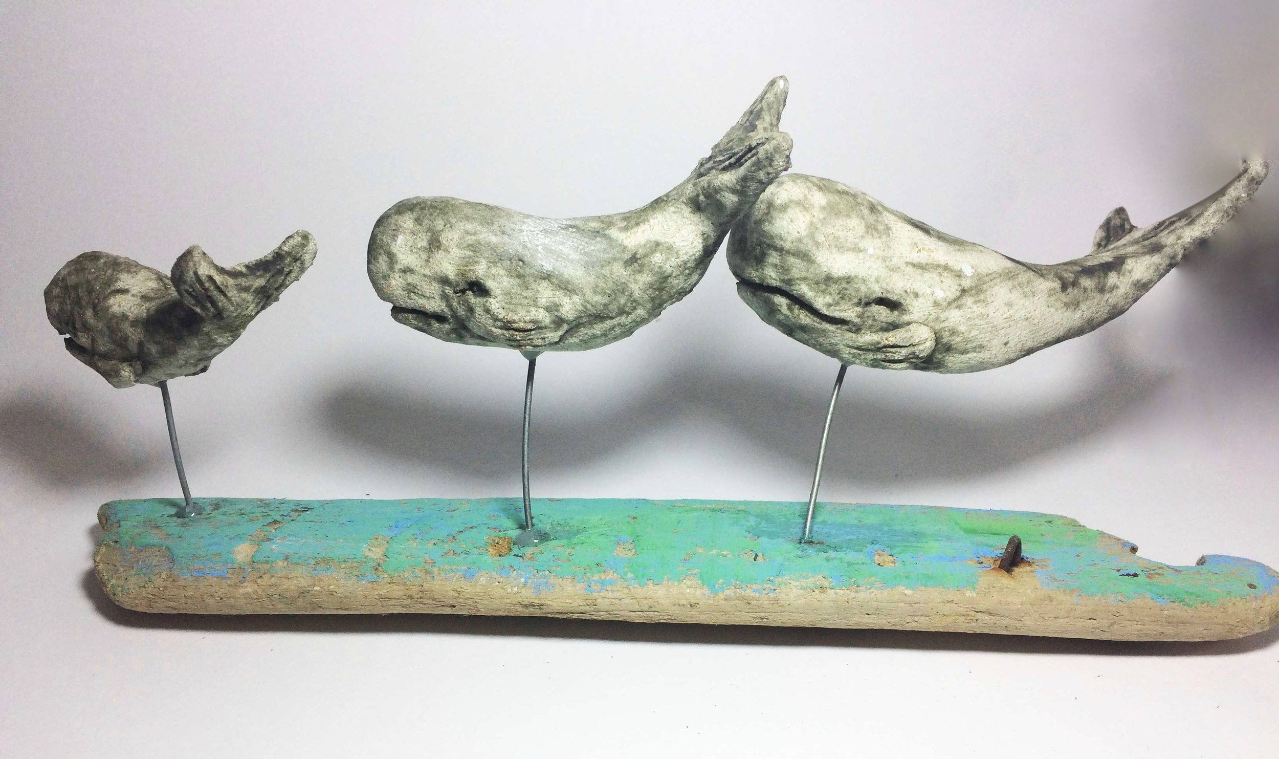 Pod of 3 Whales