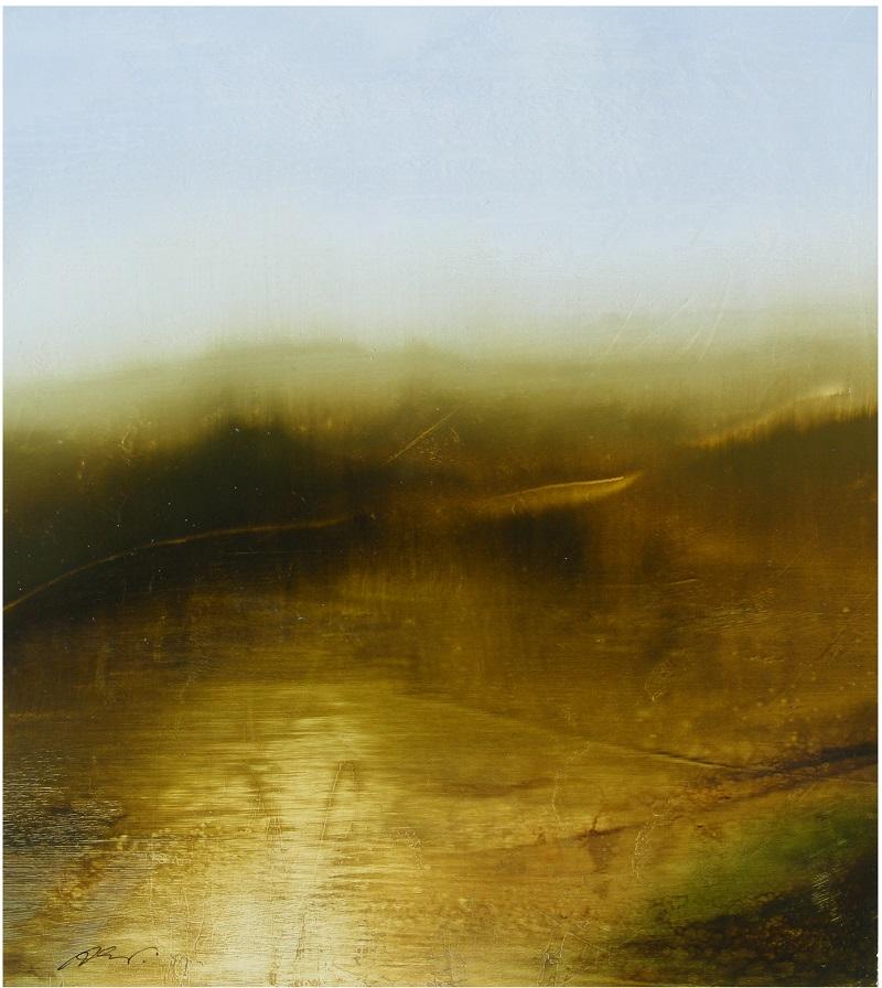 Woodland I  Oil on Canvas  40 x 35cm  £1100