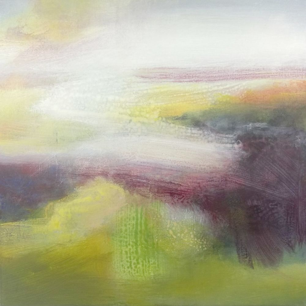 Wild Grassland Oil and Acrylic on Canvas 30x30cm £600.00