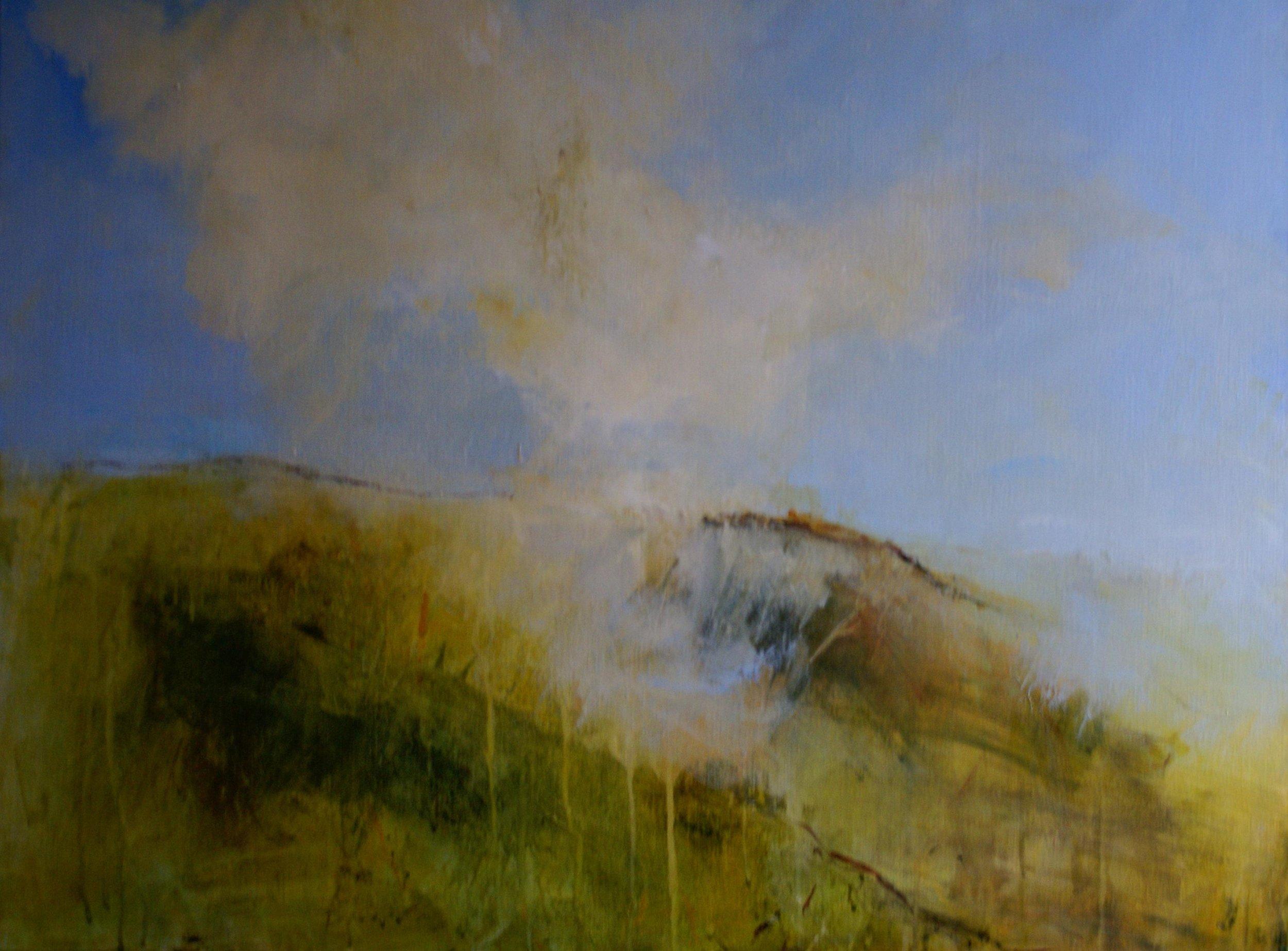 Pauline Rignal  Air  76 x 91 cm