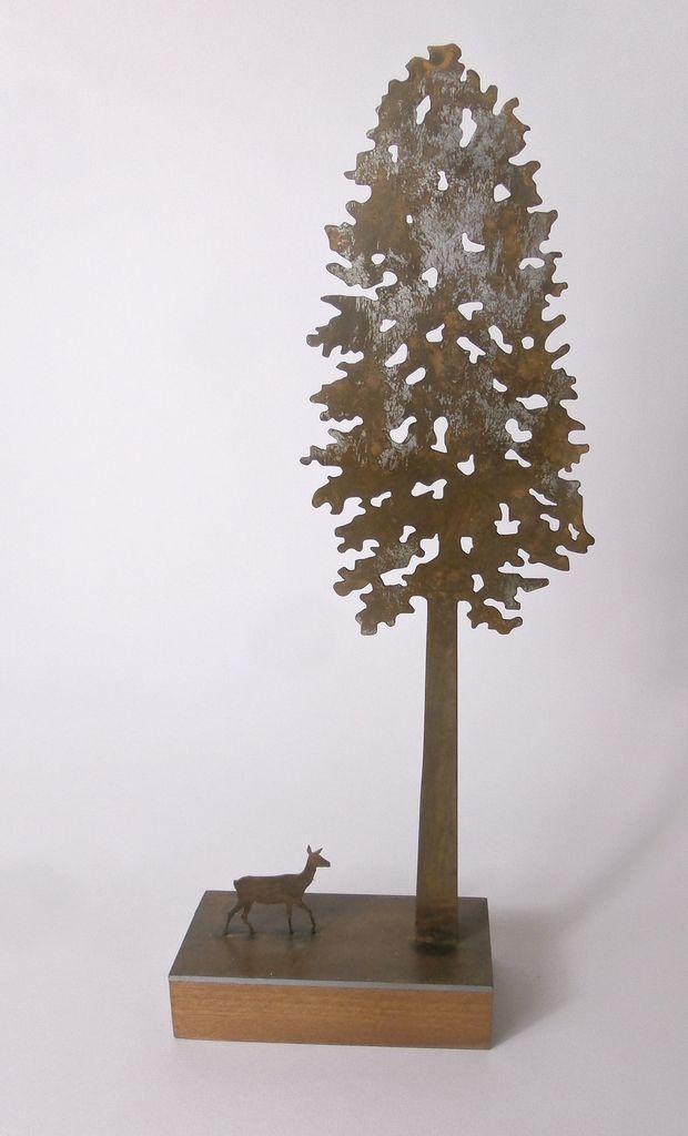 Tall Tree 14 x 39 cm £110.00